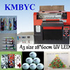 low print cost digital desktop uv inkjet printer made in China