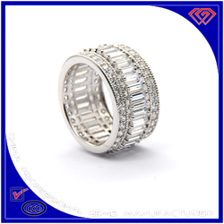 European And US Style Silver Ring