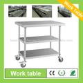 Mobile 3 couche industriel. table de cuisine pour le restaurant