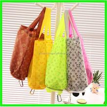 Wholesale Reusable Polyester Shopping Bag folding bag