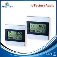 Home weather station digital table clocks with calendar