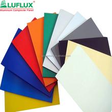 External Wall Cladding panel/ACP sheet/pvdf 4mm aluminum composite panel