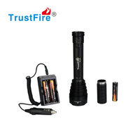 Flashlight TR-J18 8000 lumens 7 cree xm-l t6 led rechargeable camping Police torch flashlight