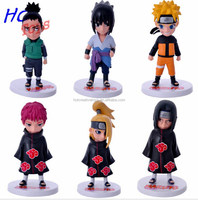 HOT Anime Naruto Action Figures PVC Dolls Models Collectibles Toys