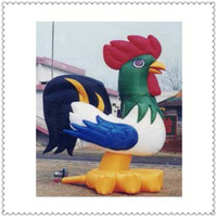 0.55mm pvc tarpaulin cheap inflatable cock for sale
