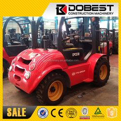 YTO Machinery CPCD30 Rough Terrain Forklift 3 Ton Cheap Price