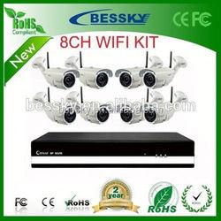 Bessky cheap Wifi 2p2 Wireless 3mp Ip Camera cctv wifi camera NVR kits