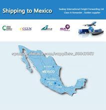 El transporte de contenedores desde China a México