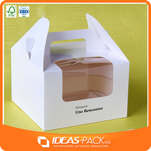 2015 laser cut cheap cake, baby shower cakes box for girls made in china