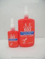 603 retaining adhesive, press fit, oil tolerant, metal glue