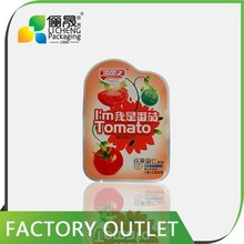 packaging and printing custom printed resealable bags cherry tomato packaging