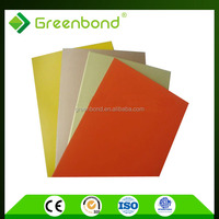 Greenbond aluminium wall cladding sheet with cheap discount price popular from china market