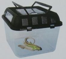 Tansparent Plastic Turtle Box Reptiles