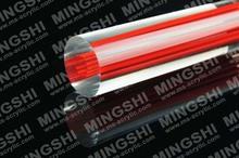 Flexible sólida de plástico transparente de la barra, de plástico transparente cortina de color de la barra barra de acrílico