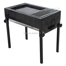 Outdoor Use Portable Japanese Charcoal BBQ Grill for sale with grill pan