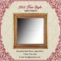 rectángulo marco de espejo antiguo espejo decorativo espejo de la pared