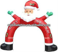 2014 advertising decoration inflatable arches/inflatable christmas air man as Christmas Inflatable decorations