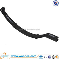 China 4 Pieces Light Duty Suspension Parts Trailer Leaf Spring