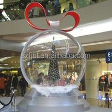 Wholesale christmas ornaments polyfoam Christmas ball make it christmas ornaments