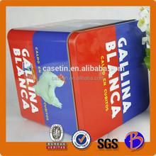 2015 new popular promotion metal food grade storage candy box