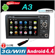 AUD-7027GDA with Bluetooth hands-free car reversing system for A3 2003-2011