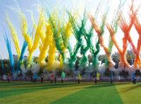 color smoke fireworks, daytime fireworks