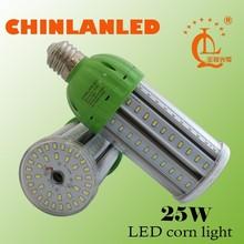 2015 new warehouse,street,garden led bulb, dimmable e27 e40 360 degree lighting 25w led corn light bulb