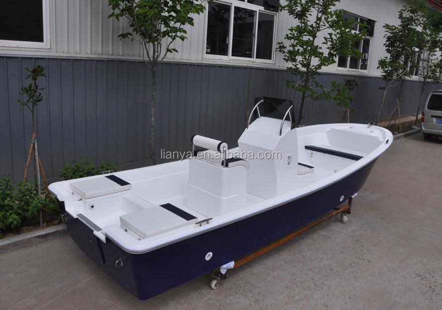 Liya14 19ft fiberglass outboard motor boats panga boat for Small fishing boats with motor
