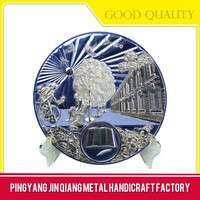 Accept custom order small metal logo name plate