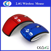 2.4Ghz Wireless Optical Foldable Arc mouse wireless for Laptop Notebook pc