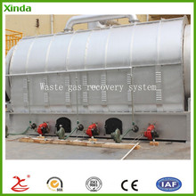 continuous waste tyre plastic pyrolysis plant to USA