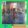 Promotional PVC/TPU football inflatable body zorb ball for sale