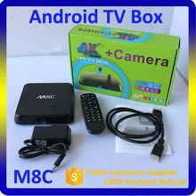 Best Internet TV Box with English Korean African Indian American Turkish Arabic Channels OTT TV Box M8C