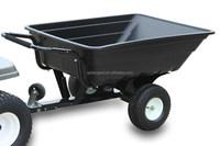 four wheel utility farm trailer