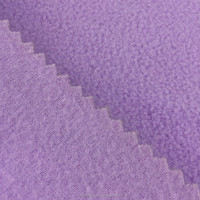 weight Poly material Fleece tircot Brushed Fabric