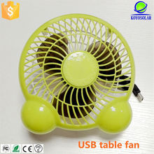high quality 6 inch DC USB mini desk fan for notebook
