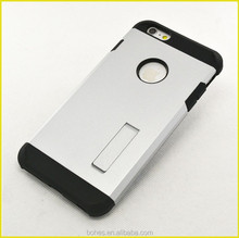 Premium hard shell hard kickstand case for iphone 6