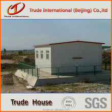 portable house with cement foamed panel