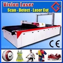motor sports jersey cutting machine / laser cutting printed fabric