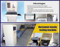 universal hydraulic tensile testing machine price, Hydraulic universal testing machine for tensile compression shear bend test