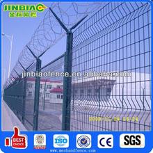 El aeropuerto y tipo de poste de la cerca( hecho en anping, china)