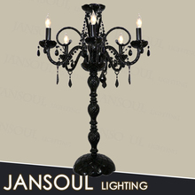 european style black crystal chandelier fancy antique table lamp
