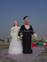 Most popular lovely inflatable couple model, inflatable advertising, decoration inflatable model