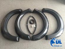 Matte black car fender trim extension 09-14 F150 fender flares for ford f150