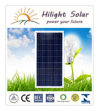High quality 150W solar panel with TUV IEC CE CEC ISO INMETRO certificates.