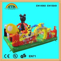 inflatable outdoor playground park for kids and adult on sale/ inflatable park/ inflatable bouncer