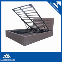 PU bed storage bed Pneumatic Rod