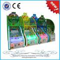 2015 nuevos productos de los niños de la moneda operado máquina de juego de juego de baloncesto
