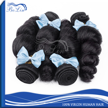 100% Natural Indian Human Hair Price List No Chemical Processed Blossom Bundles Virgin Hair Indian Remy Hair Extension
