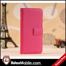 For iPod Touch 5th PU Leather Card Holder Wallet Type Case